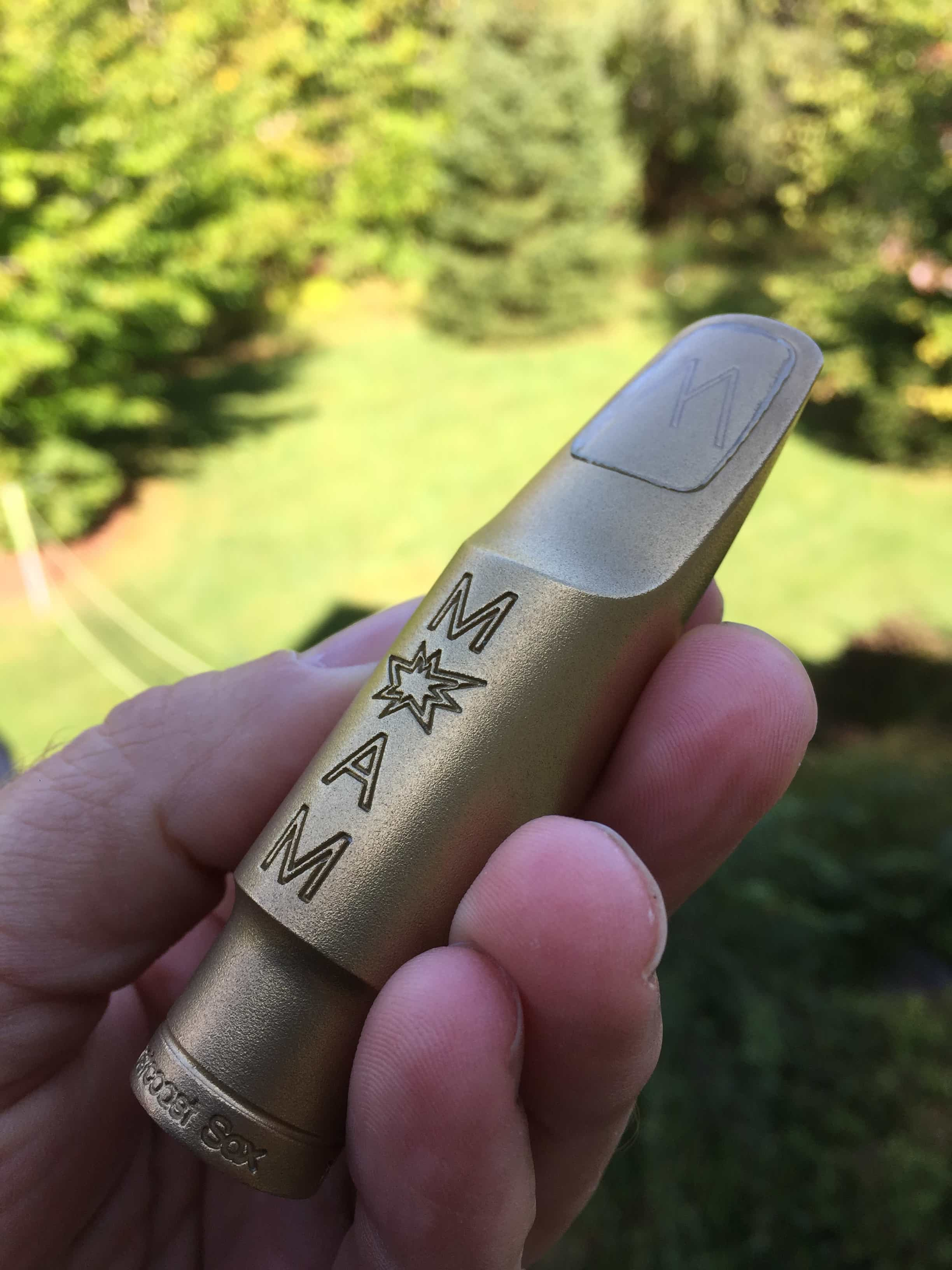 Westcoast Sax MOAM Alto Saxophone Mouthpiece Review